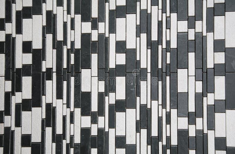 Black white stone wall stock photo