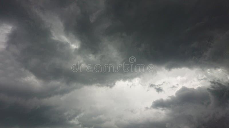 Black & white storm clouds. Rain, weather stock photos