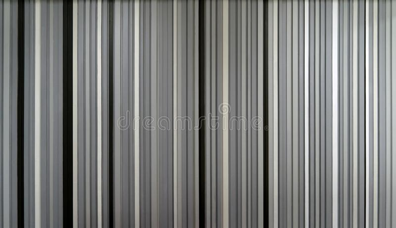 Black and white strips or lines with empty space. Decoration for wallpaper. Architecture interior design pattern material texture. Background royalty free stock image