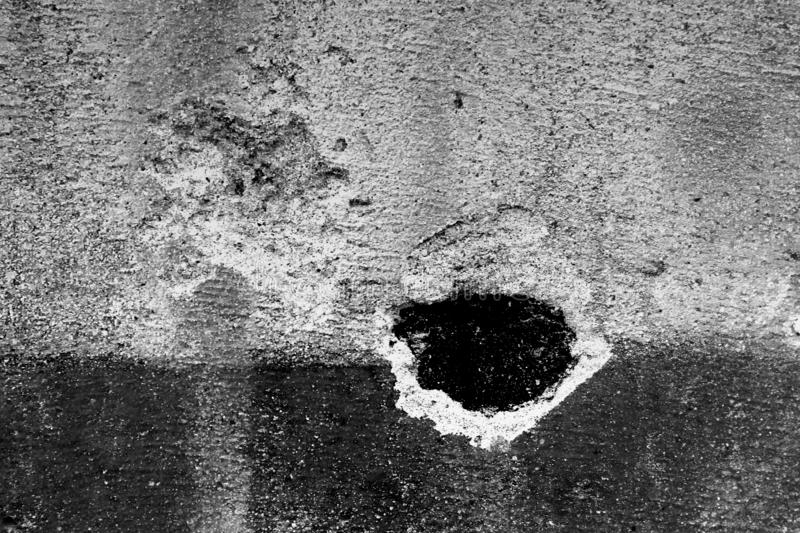 Black and White Texture of dirty gray concrete wall as an abstract background, Concrete als Hintergrund stock photos