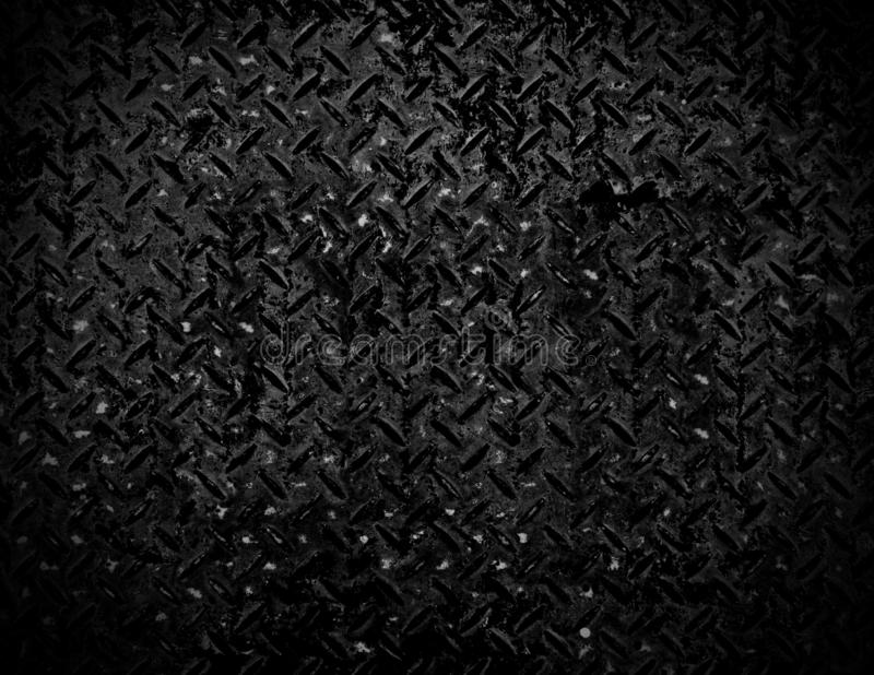 Black and white Texture of metal drain cap background.  royalty free stock photos