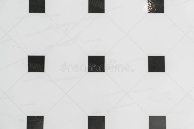 black and white tile stock photo