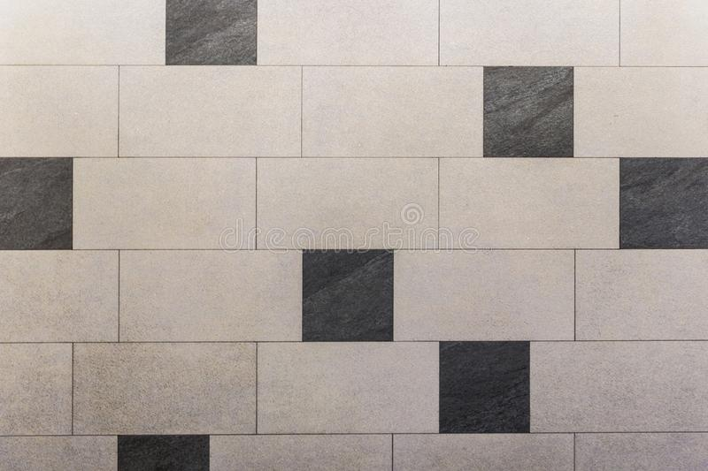 Black and White Tiles Textures and Background stock photos