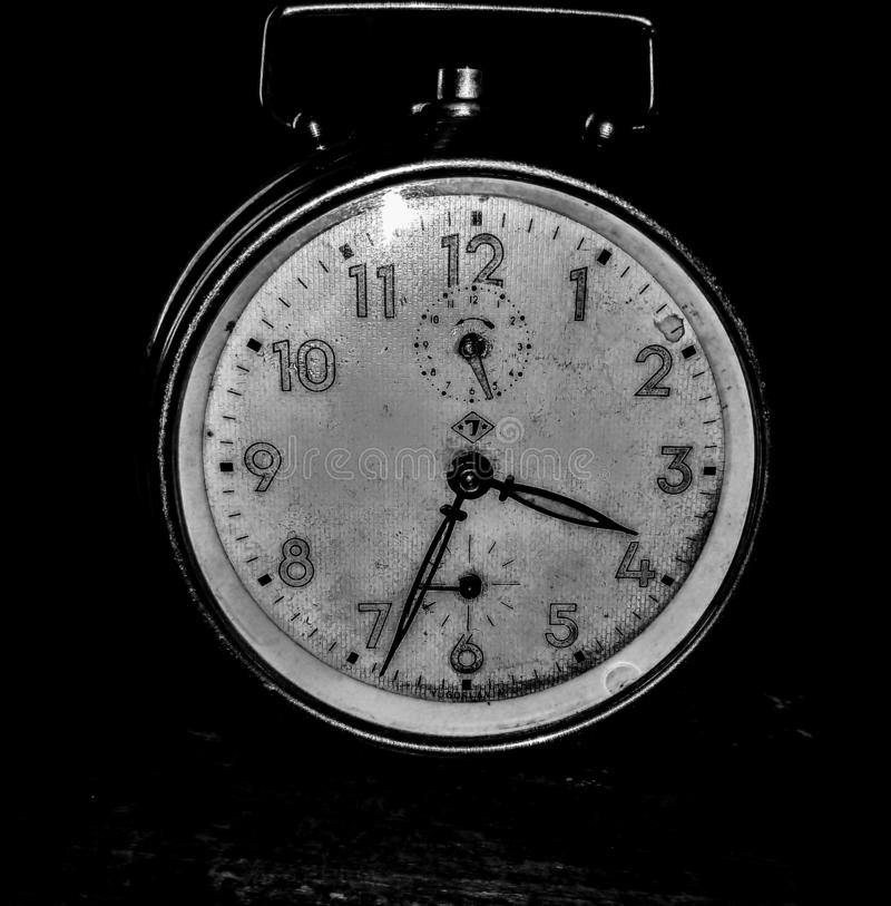 Black and white time stock photography