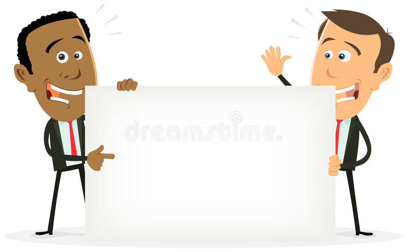 Download Black And White Traders stock illustration. Illustration of communication - 21375003