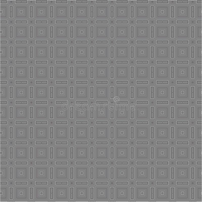 Black And White Traingle Cloth Fabric Vector Seamless Background Texture Pattern __086. Black And White Traingle Cloth Fabric Vector Seamless Background Texture royalty free illustration