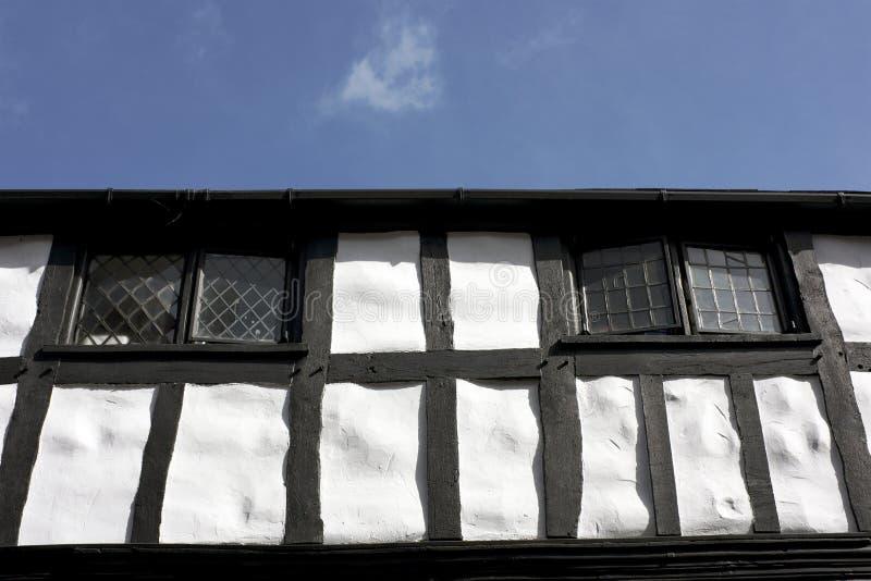 Black and White Tudor Building, England