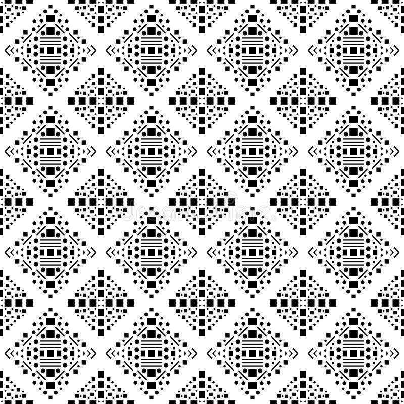 Black and white vector geometric modern chevron at work monochrome. This patern uses for web site background web using color printing card macing laptop stock illustration