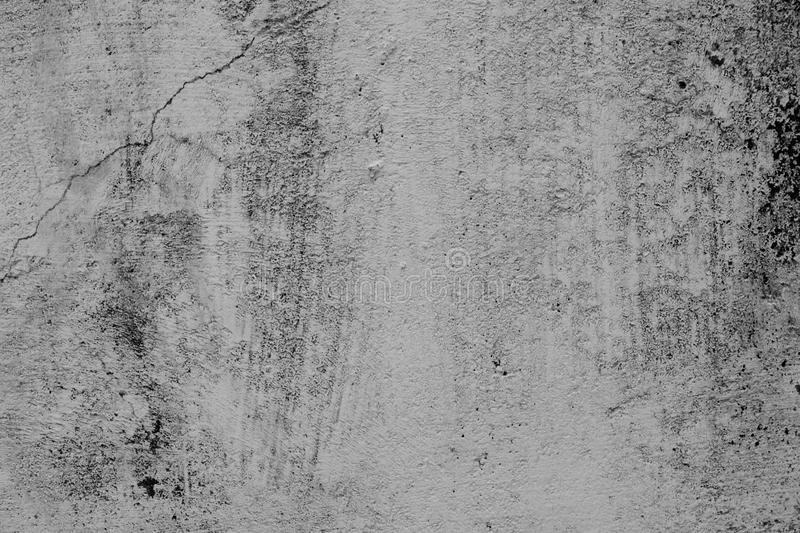 Black and white wall texture or background. stock photo