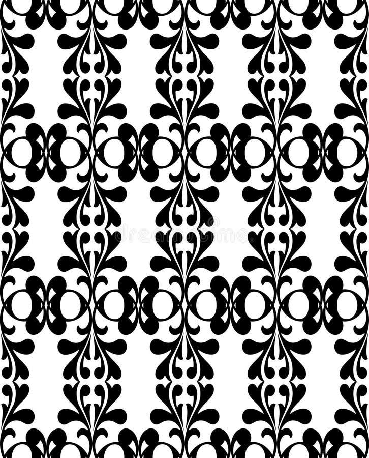 Black on white wallpaper royalty free stock photos