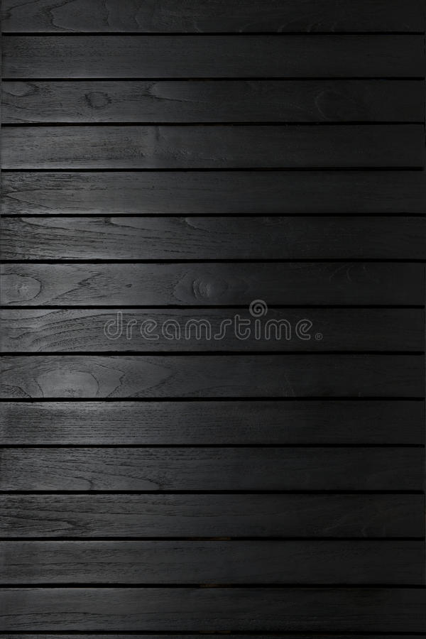 Abstract Black Texture Wood Background stock images
