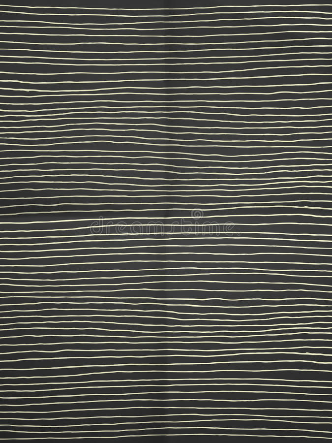 Black and white wrapping paper with horizontal lines royalty free stock images