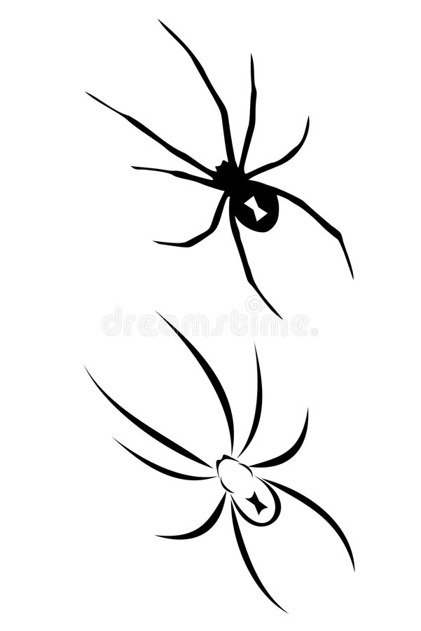 Tribal Spider Tattoo Stock Illustrations 134 Tribal Spider