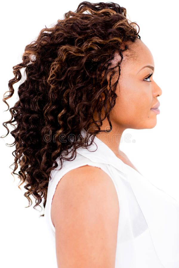 Download Black woman with an afro stock photo. Image of people - 26815164