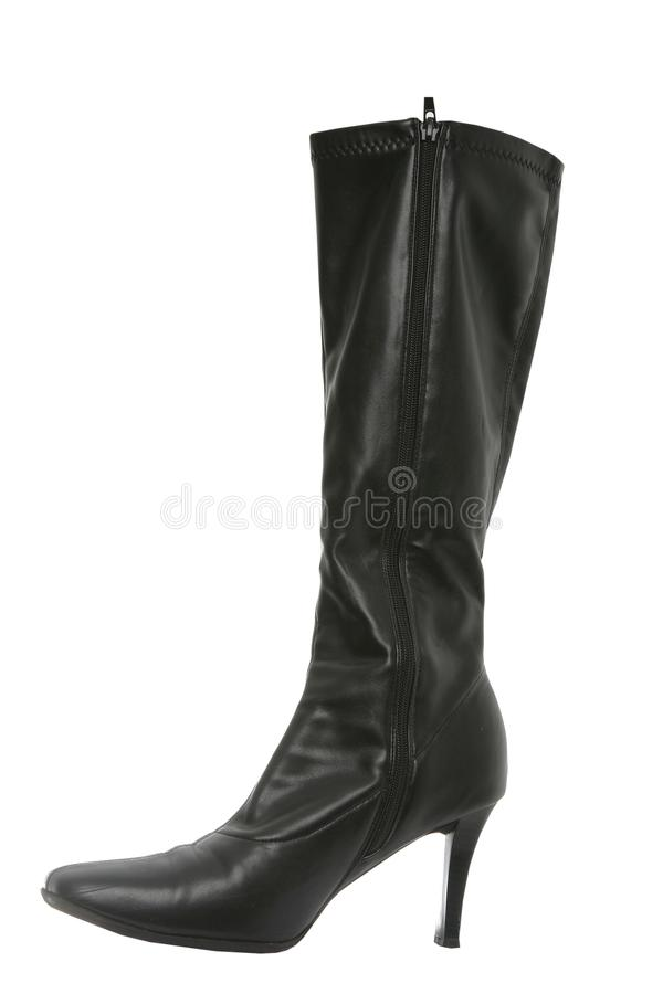 Free Black Woman S Boot Isolated Stock Photography - 15022902