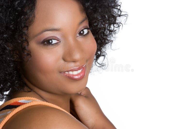 Black Woman Smiling Royalty Free Stock Photo