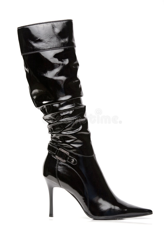 Free Black Women Boot Royalty Free Stock Photography - 7157287