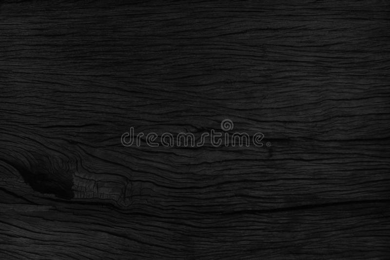 black wood background texture table top view. Blank copy space f royalty free stock photography