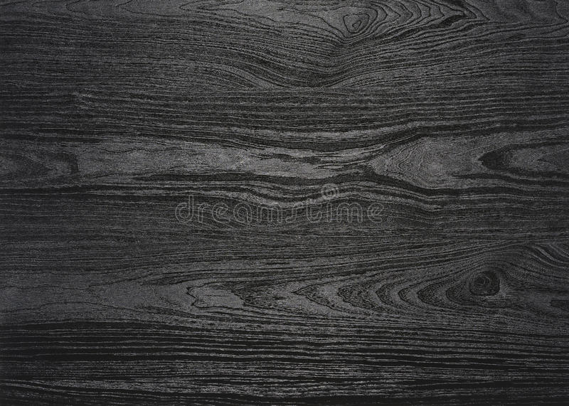 Black wood grain surface royalty free stock photography