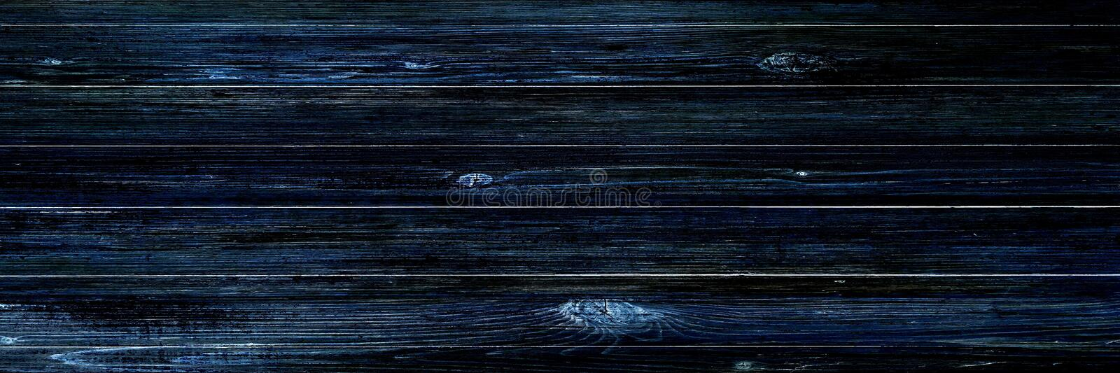Black wood texture, dark wooden abstract background stock image
