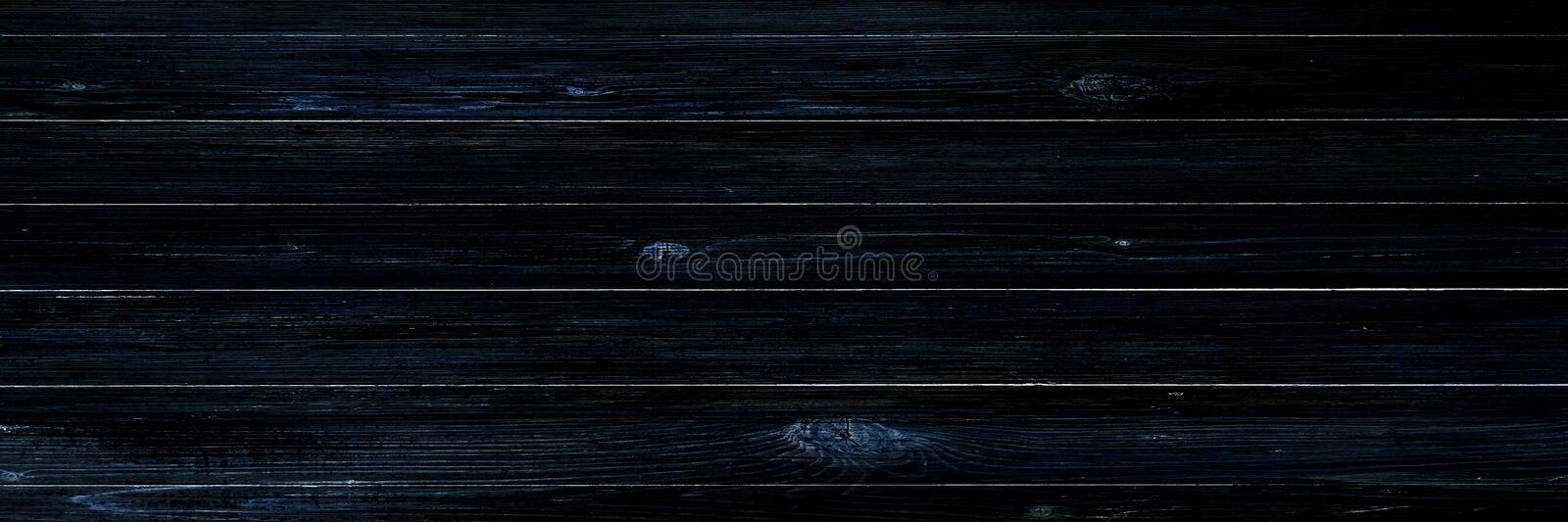 Black wood texture, dark wooden abstract background royalty free stock photography