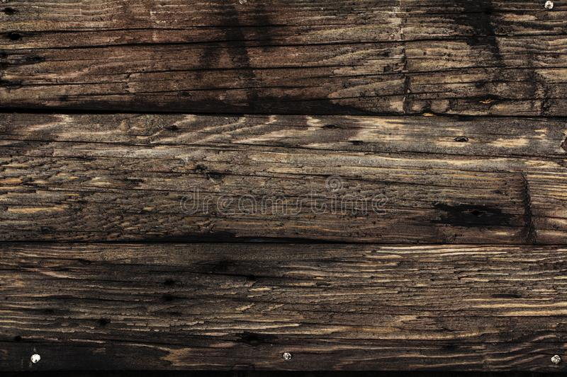 Black wooden background texture High quality. Can be used for design as a background or other. Copy space. Wooden black background.  stock photography