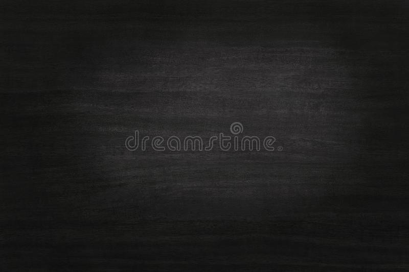 Black wooden wall background, texture of dark bark wood with old natural pattern. royalty free stock photography