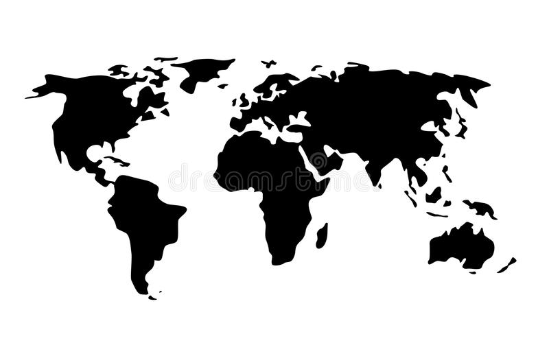 Black world map illustration stock illustration illustration of download black world map illustration stock illustration illustration of location asia 76470075 gumiabroncs Choice Image