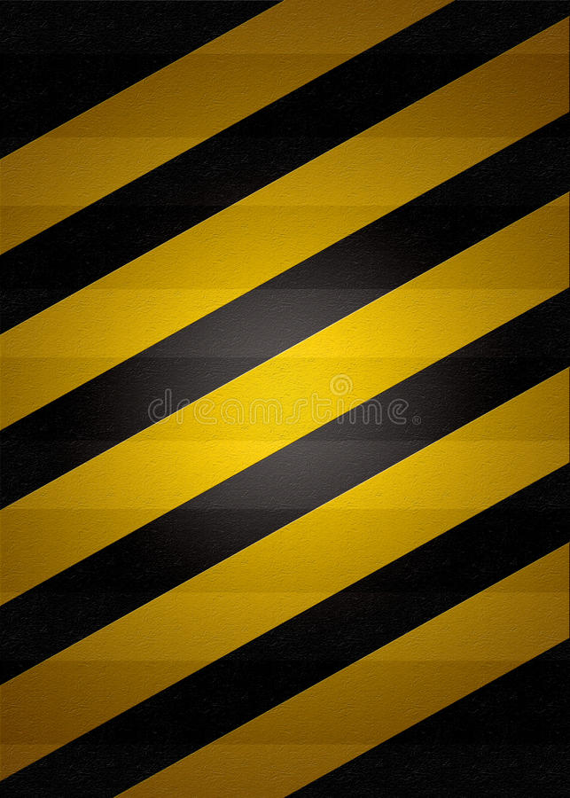 Black and yellow background. Wallpaper/zebra crossing royalty free stock photography