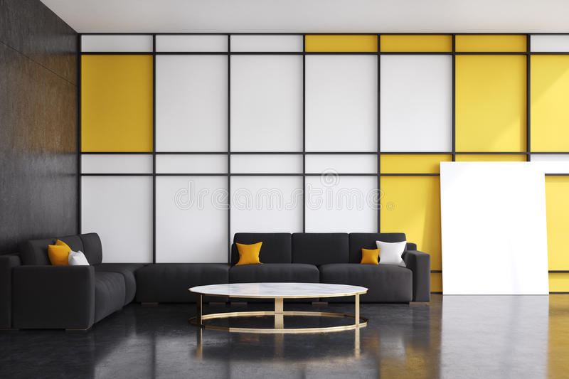 Yellow Living Room Front Stock Illustrations 620 Vectors Clipart Dreamstime