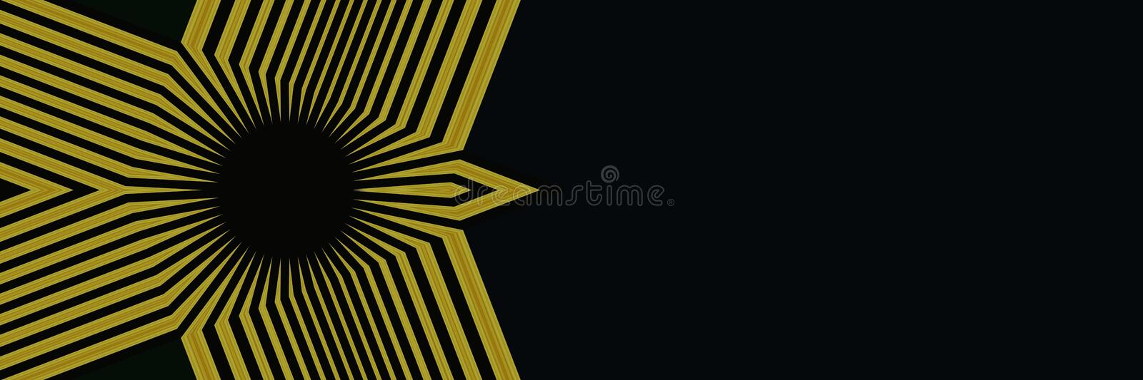 Black, Yellow, Black And White, Pattern royalty free stock images