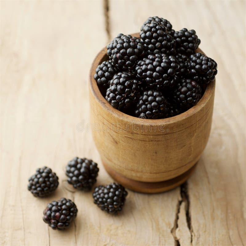 Blackberries on white background royalty free stock photos