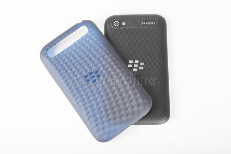 BlackBerry Classic back and phone case stock image