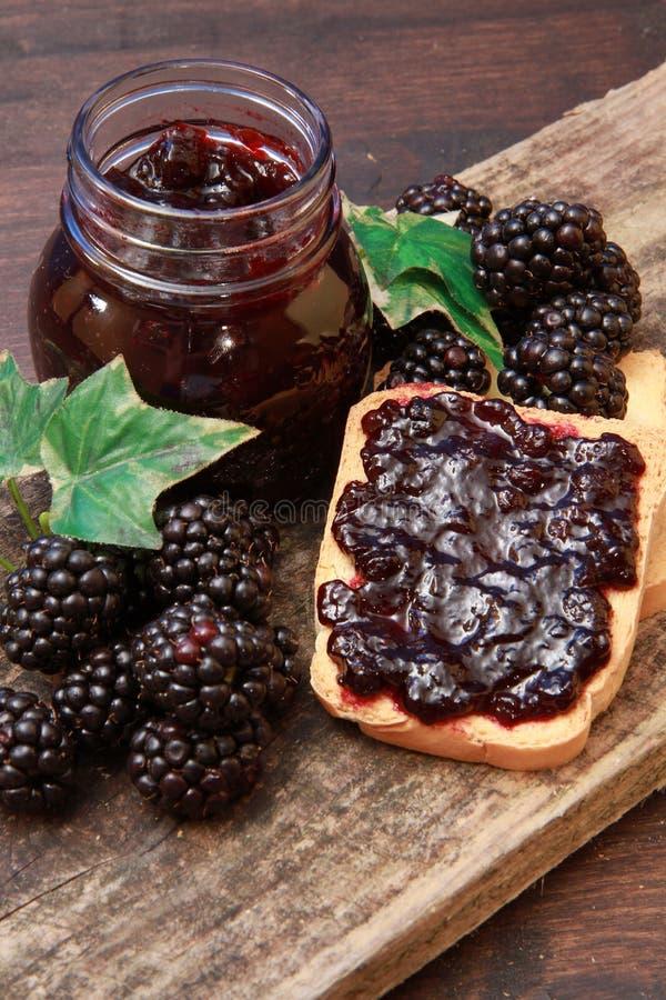 Download Blackberry jam stock photo. Image of orange, sweet, peach - 14858982