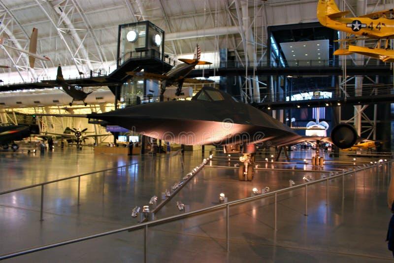 Blackbird SR-71 arkivbild
