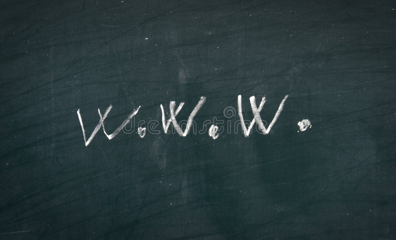 blackboard (1) sieć zdjęcie stock