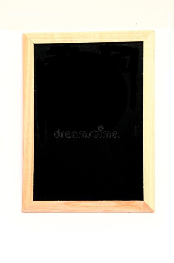 Blackboard. Shot of a blank blackboard on a white background stock photos