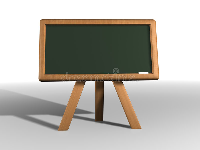 Blackboard royalty free illustration