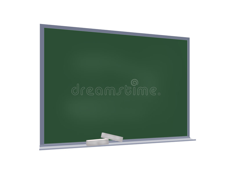 blackboard royaltyfri illustrationer