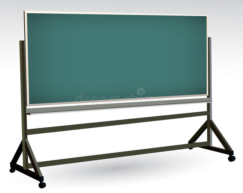 Blackboard vector illustration