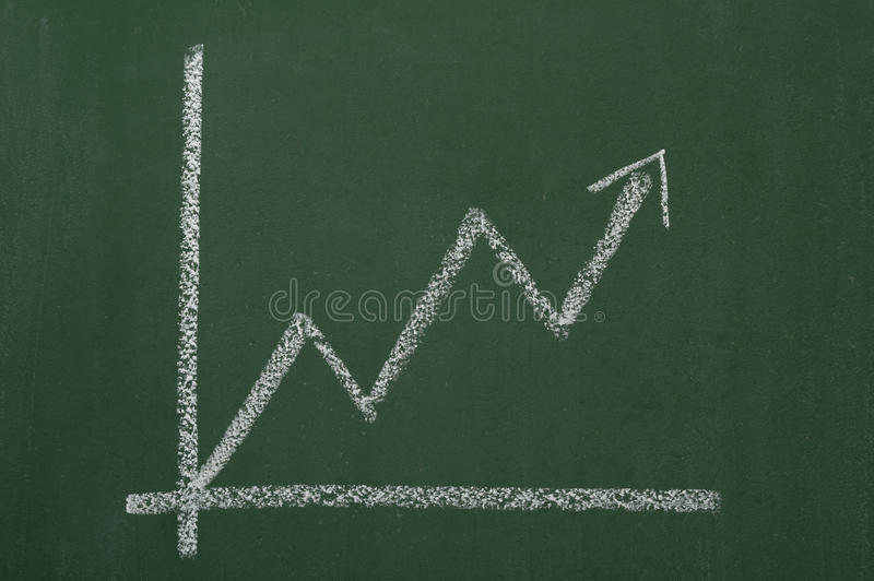 Download Blackboard business chart stock photo. Image of financial - 9423364