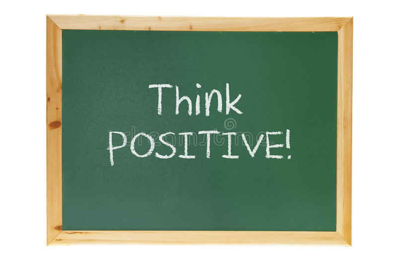 Download Blackboard With Inspiration Message Royalty Free Stock Images - Image: 24484999