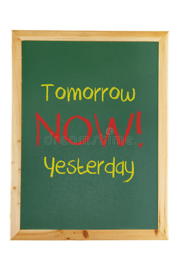 Download Blackboard With Inspiration Message Stock Image - Image: 24511619