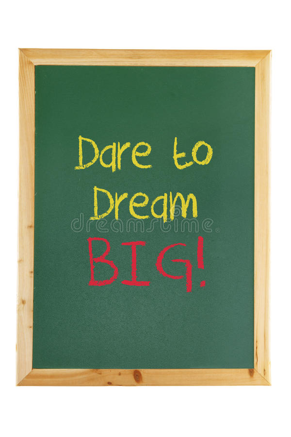 Download Blackboard With Inspiration Message Stock Photos - Image: 25148863