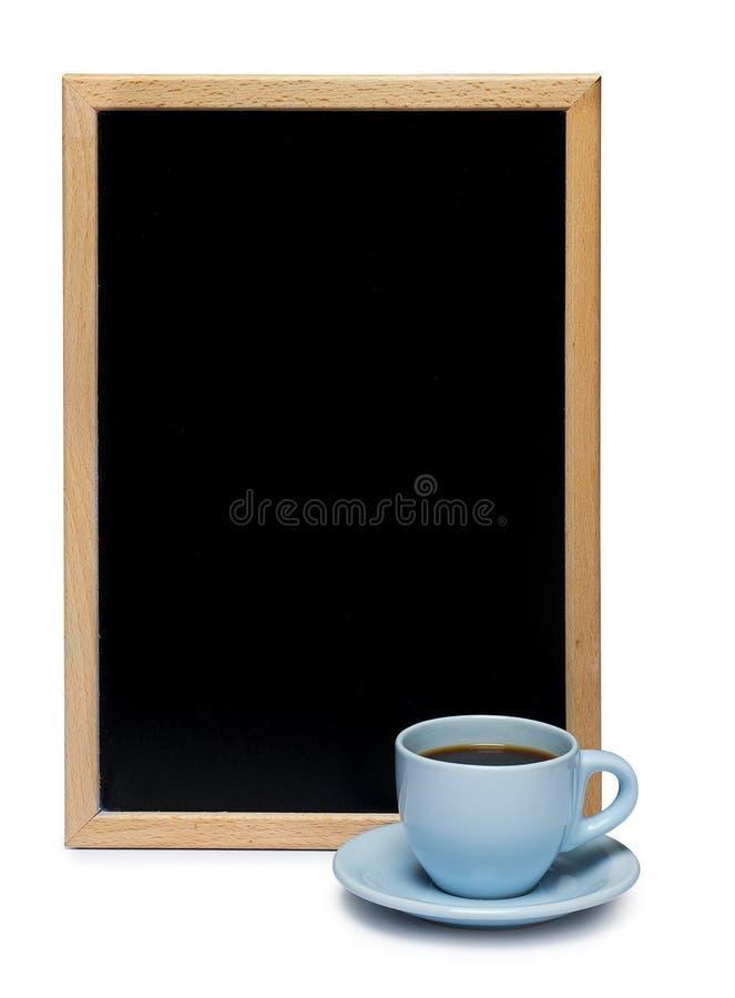 blackboard kawa zdjęcie royalty free