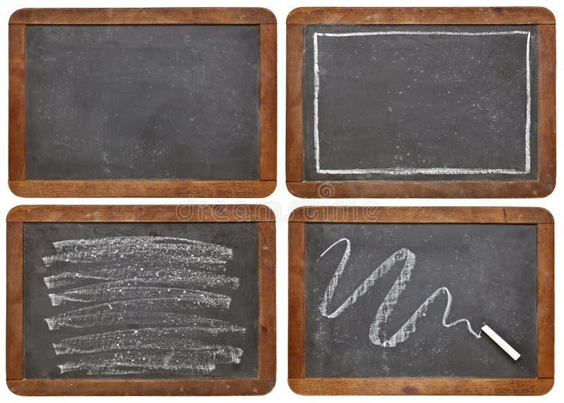 blackboard kredy łupek zdjęcie royalty free