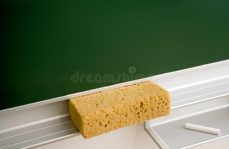 blackboard kredy gumka obraz royalty free