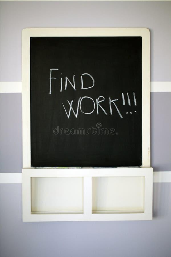 blackboard kredy znaleziska praca pisać obrazy stock