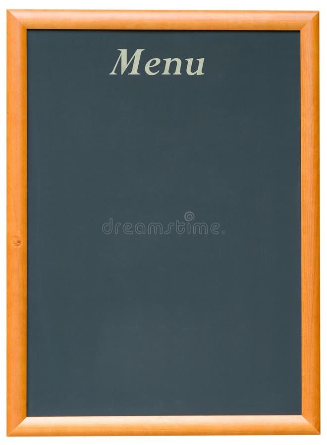 blackboard menu obrazy stock
