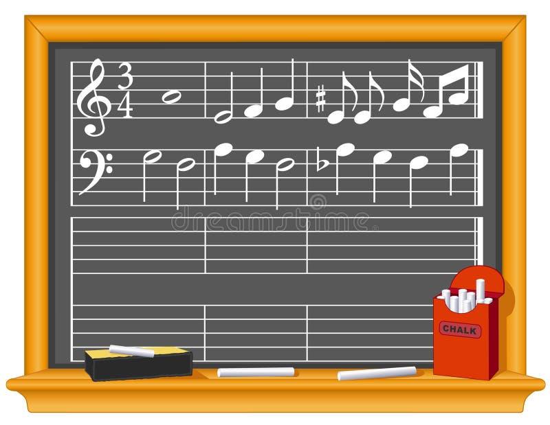 blackboard muzyka ilustracji